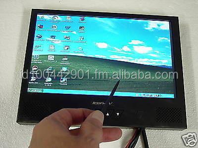 10'' LCD TOUCHSCREEN MONITOR VGA CAR PC CARPUTER TV