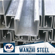 C Channel Hot rolled steel price