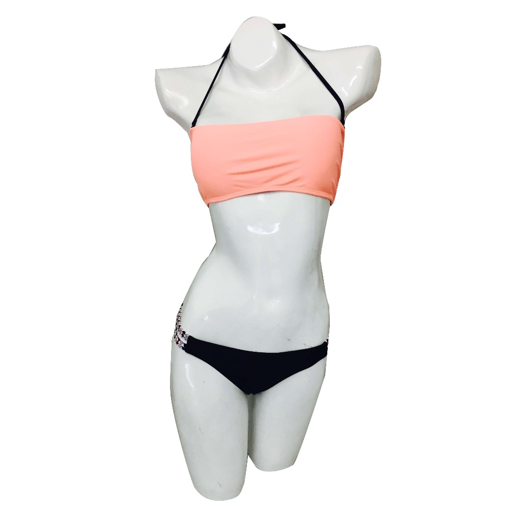 wholesale custom Nylon bathing suits for young women