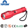 LED 2000 Lumens Zoomable Waterproof Tactical Handheld Rechargeable Flashlight With Car Charger,18650 Battery and Charger