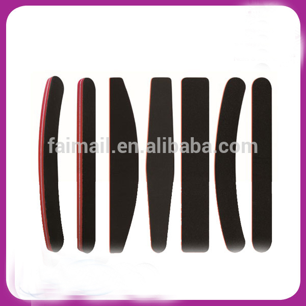 Nail supplies maincure tools of nail file buffers