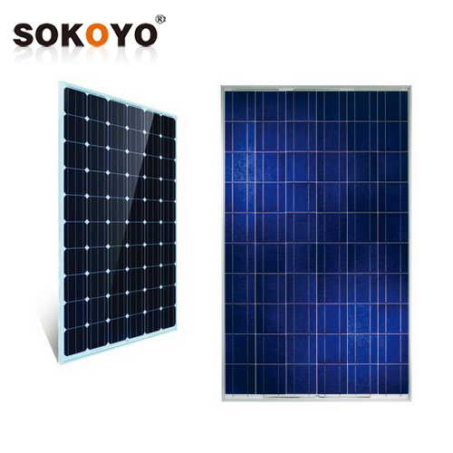 High Efficiency 5W--300W Grade A soalr panel cell cheap factory price with mounting bracket solar panel system