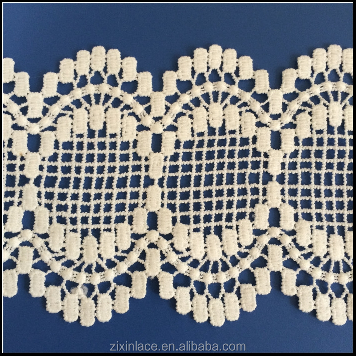 New design popular flower embroidery lace