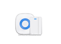 forrinx high-end 52 ringtones wireless doorbell with entry alert door chime and magnetic sensor