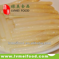 Canned White Asparagus Whole Spear in Glass Jar