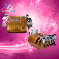 Best Combination! Lipo slim Laser+ Cavitation+RF+Vacuum/ Cavitation Lipolaser Slimming Machine