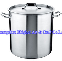 Large Aluminum Cooking Pot/ Stainless Steel Stock Pot