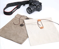 Custom envelope linen cotton pouch for ipad
