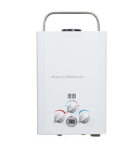 6L portable outdoor gas water heater with AGA certificate