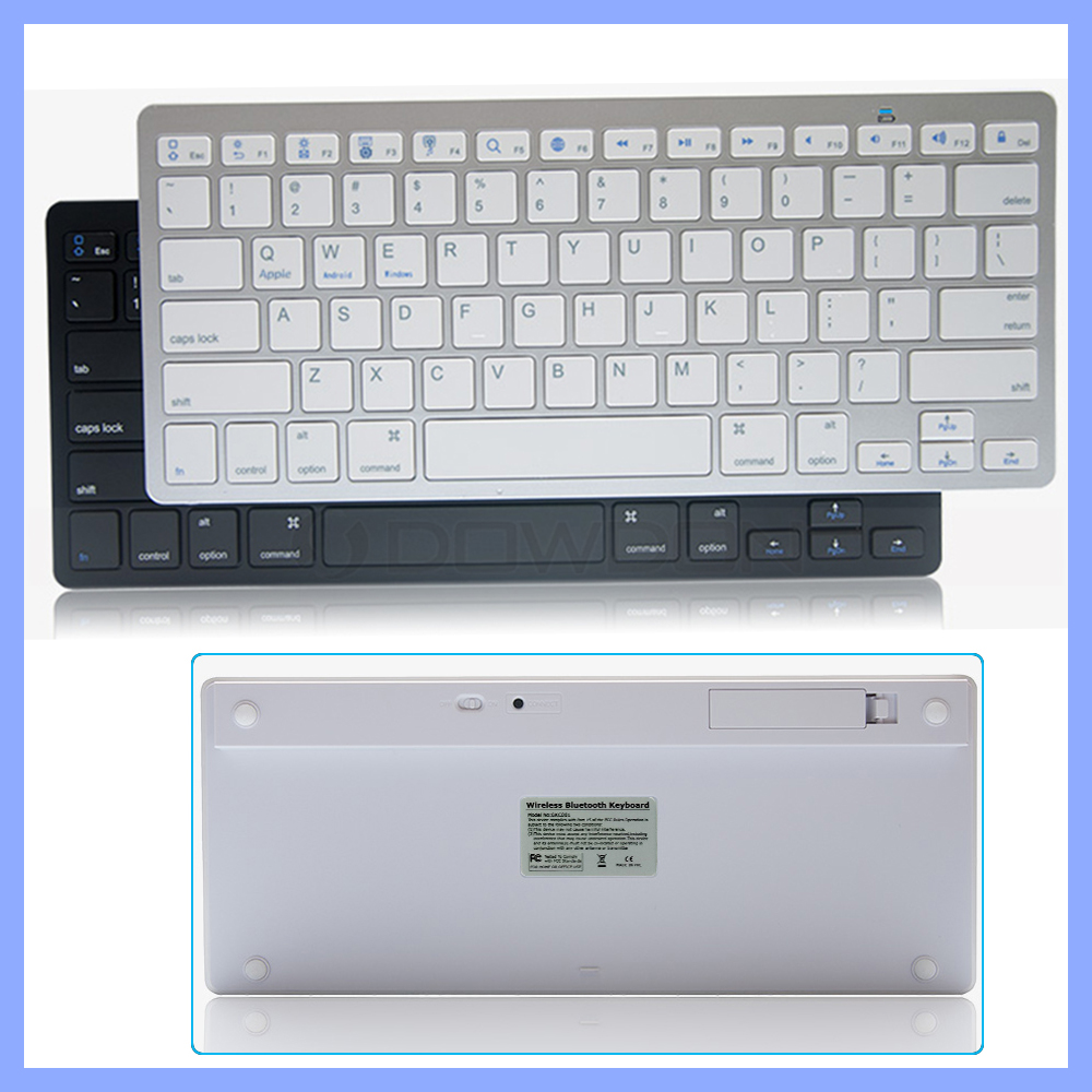 Portable ultra thin universal for windows for ios for android bluetooth wireless keyboard for pad laptop tablet pc