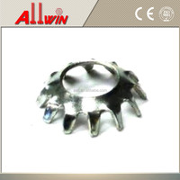 Type A Lock Washer Steel Countersunk External Tooth washer