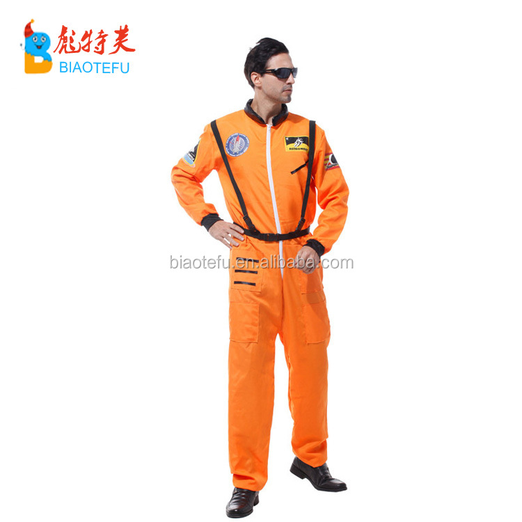 Carnival adult man cosplay pilot costume for party