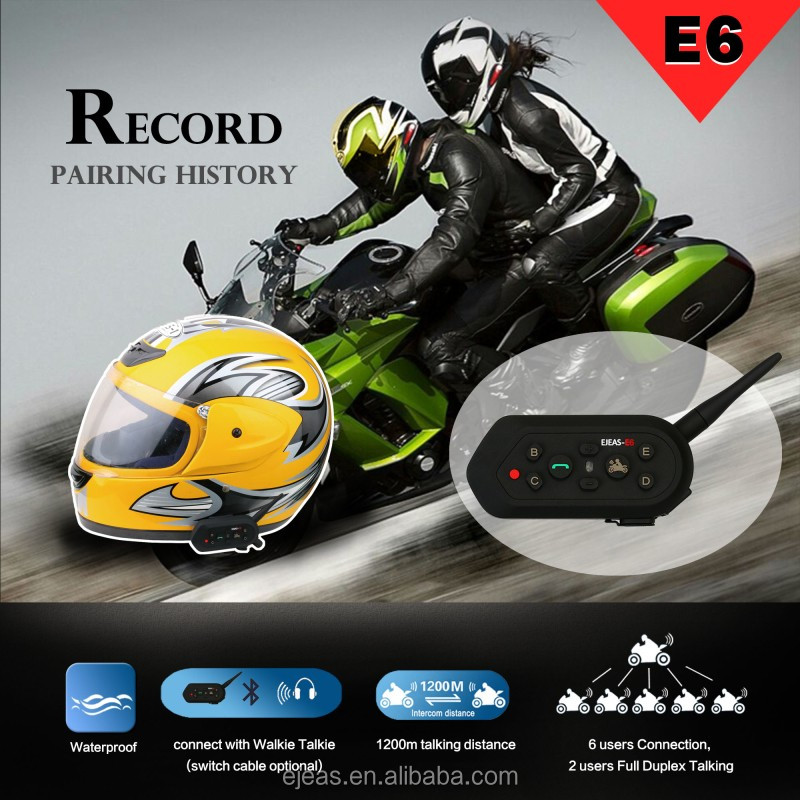 6 riders bt interphone bluetooth helmet elevator apartment system cheap wireless ip intercom