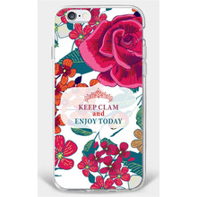 Pink Flower Pattern Back Cover For Woman Ultra Thin Phone Case For Samsung Galaxy S3
