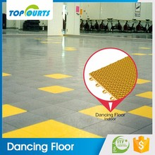 Promotion free maintenance modular multi-purpose sports court thailand flooring for dancing rooms