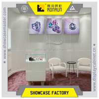 High grade diamonds display counter ,with seat design for lover shop furniture
