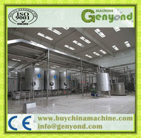 Pasteurized / uht dairy product/milk sterilizing line