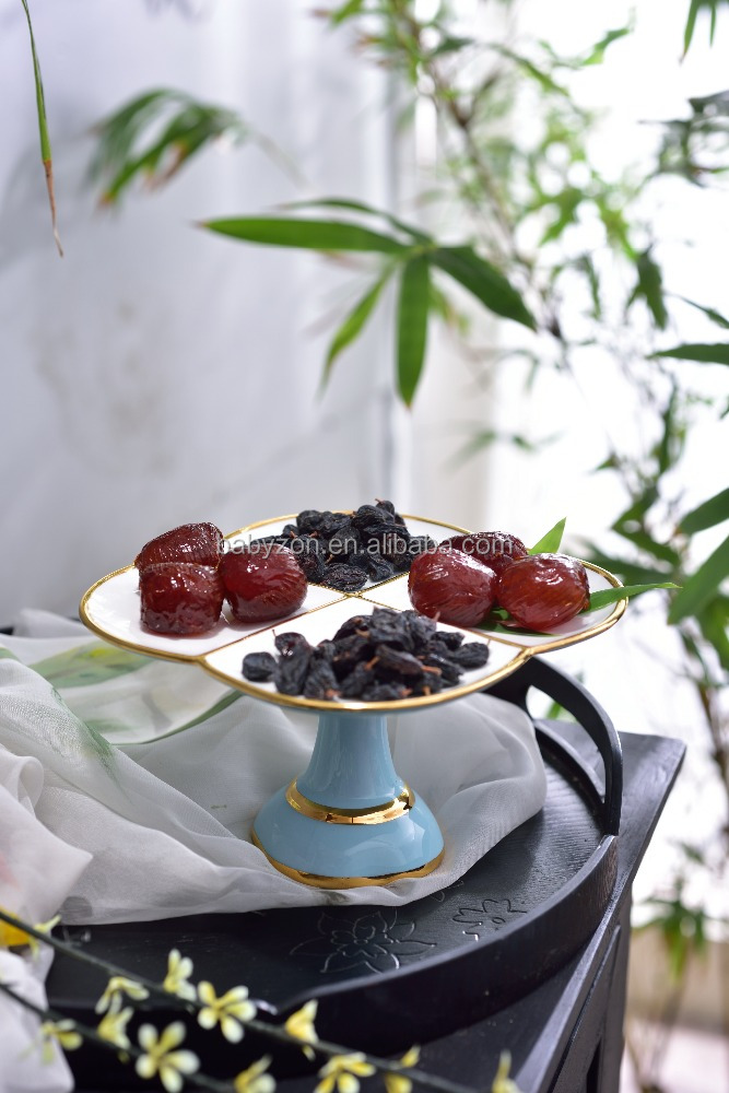 Special Offer Modern leisure Decorative ceramic candy bowl with stand