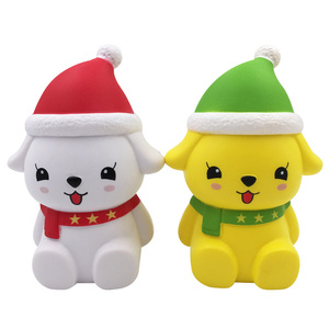 Decompression Soft Squishy Dog Animals Gift Christmas Toys