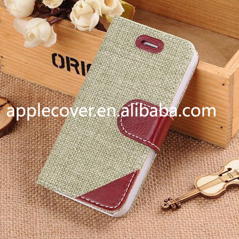 2015 Fashion Weave Crafts Wallet Case for i Phone 5 5s,for iphone 5 case