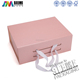 custom elegant packaging cosmetics gift box with bowknot wholesale in China