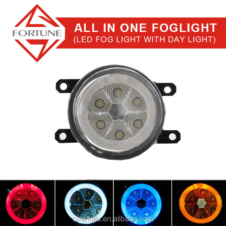 2016 New car accessories Toyota Alphard led lighting parts car angel eye Rohs 12V led fog light