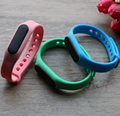 Bluetooth Low Energy Rechargeable Wristband Beacon With Vibrator and LED