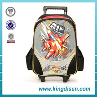 Wholesale fancy trolley luggage children school bag for travel