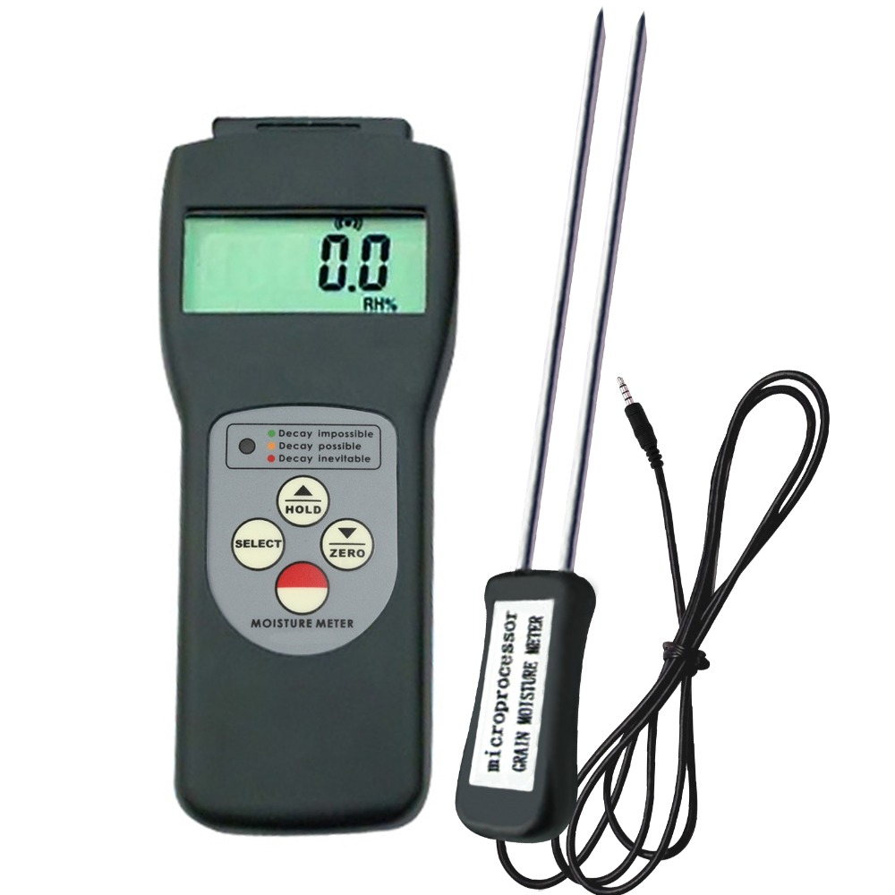 Digital Multi-<strong>Grain</strong> Moisture Meter Tester Rice Wheat Corn New 6 - 30% Range Measures 36 kinds of <strong>Grains</strong>