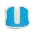 Wholesale Portable Coccyx Orthopedic Beach Chair Medical Bamboo Cooling Gel Memory Foam Seat Cushion