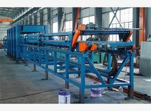 china manufacturer eps rock wool sandwich panel machine product line