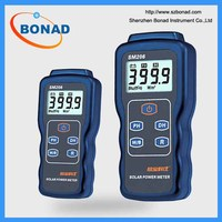 Solar power meter SM206 used in solar radiation measurement