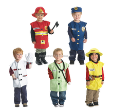 2016 Halloween carnevale carattere costume cosplay-Bambini chef costume