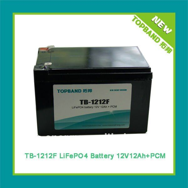 New rechargeable 12V 12Ah Motor Start Battery Pack Manufacturer with BMS+ALS Case