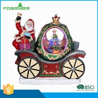 Choice Materials LED Christmas Decoration Christmas Sleigh Indoor Decoration