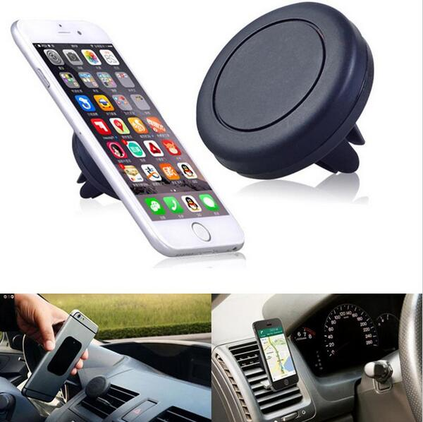 Smart phone car holder magnetic car air vent cell phone mount holder for all smartphone & GPS