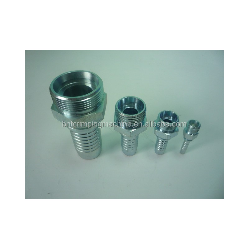 barnett (2C-JE463) hydraulic fittings 1jg/male connector/ bspp 37flare male bsp parallel thread hydraulic hose