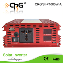 50hz dc home use off grid 12v 1200w solar power inverter with pwm charge controller
