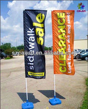 Double sides outdoor flying banner,teardrop banner,feather banner