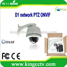 700tvl wired ip network camera 960H 27X Optical Zoom Network ip D1 Record H.264 1/3 SONY ExView CCD Mobile Phone SNP8277