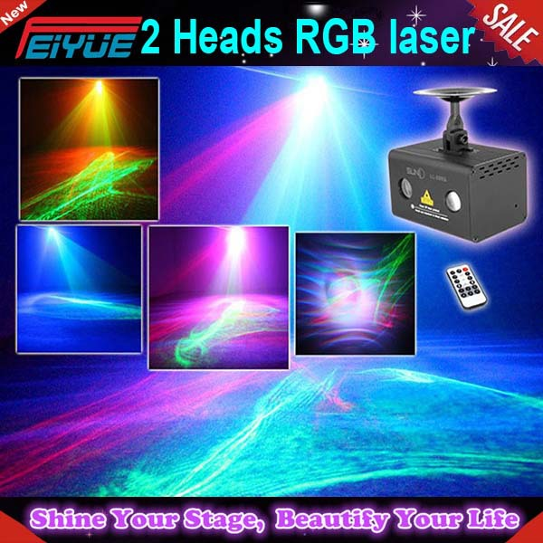 moving head mini laser light show stage lighting w/beam,blanking,led water ripple effects rgb laser stage light for Disco,bar
