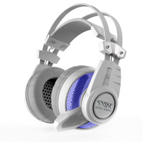 7.1 channel usb Vibration function professional gaming headset with colorful LED light glare to the music