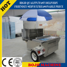 Top quality mobile wholesale food hot dog cart best selling food hot dog cart food warming hot dog cart