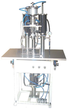 High speed automatic aerosol spray paint bottle filling machine