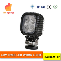 DDL 4x4 led work light 40w crees 5000 lumen led work light crees 10w bulb car work light led 12v