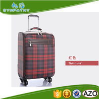 Wholesale pu luggage travel bags suitcase set