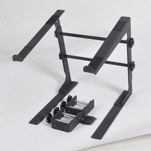 Profresional Portable metal adjustable DJ laptop stand
