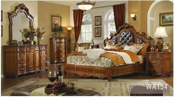 king size luxury classic bedroom set antique white bedroom furniture