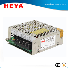 Enclosed constant voltage 110v 220v ac to 12v dc 3a 35w power supply for Led strip light