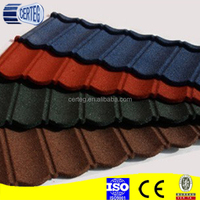 Colorful Sand Coated Metal Roofing Tile